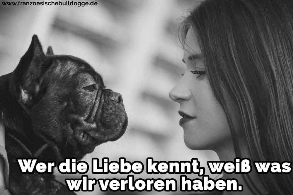 36/5000 Eine Frau mit ihre Französische Bulldog